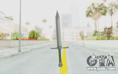 Trunks Del Futuro Katana for GTA San Andreas third screenshot