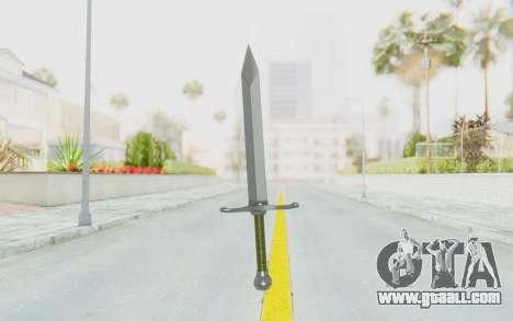 Trunks Del Futuro Katana for GTA San Andreas third screenshot
