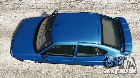 GTA 5 Lada Priora Sport Coupe v0.1 back view