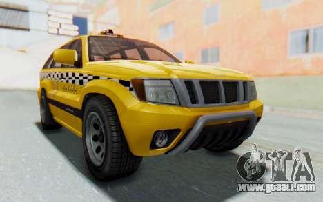 Canis Seminole Taxi for GTA San Andreas