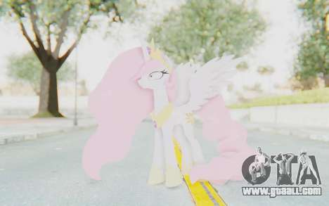 Princess Molestia MLP for GTA San Andreas second screenshot