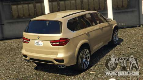 GTA 5 Benefactor XLS rear left side view