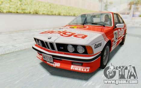 BMW M635 CSi (E24) 1984 IVF PJ2 for GTA San Andreas wheels