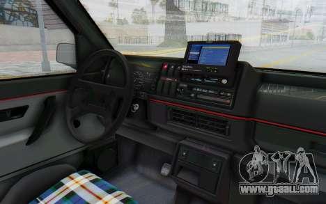 Volkswagen Golf Mk2 Lemon for GTA San Andreas inner view