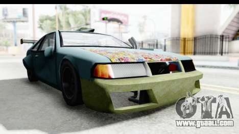 Fortune Korc for GTA San Andreas back left view