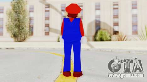 Mario for GTA San Andreas third screenshot