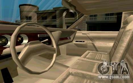 Tahoma Limousine v2.0 (HD) for GTA San Andreas back view