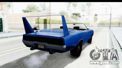 Dodge Charger Daytona 1969 Cabrio for GTA San Andreas left view
