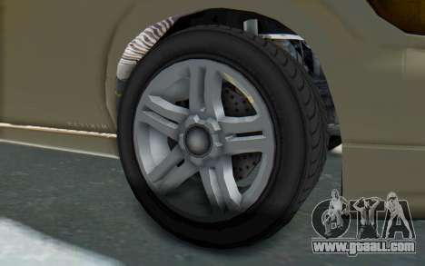GTA 5 Vapid Minivan IVF for GTA San Andreas back view