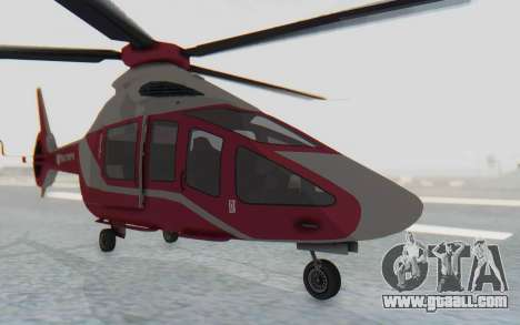 GTA 5 Buckingham Volatus v2 for GTA San Andreas right view