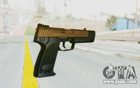 HK USP 45 Sand Frame for GTA San Andreas second screenshot