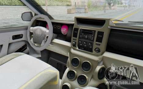 GTA 5 Vapid Minivan Custom without Hydro IVF for GTA San Andreas inner view