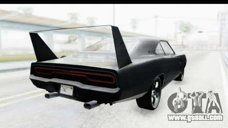 Dodge Charger Daytona F&F for GTA San Andreas left view