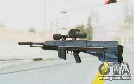 APB Reloaded - Agrotech DMR for GTA San Andreas second screenshot