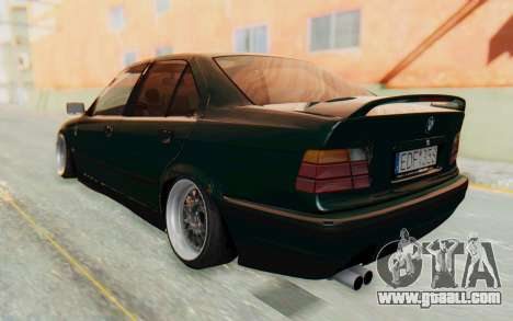 BMW 325tds E36 for GTA San Andreas left view
