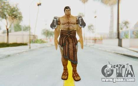 Hercules Skin v3 for GTA San Andreas second screenshot