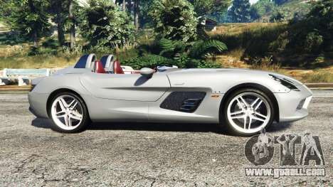 GTA 5 Mercedes-Benz SLR McLaren 2009 left side view
