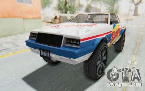 GTA 5 Willard Faction Custom Donk v2 for GTA San Andreas interior
