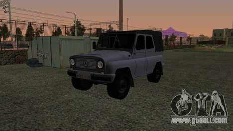 UAZ-469 for GTA San Andreas