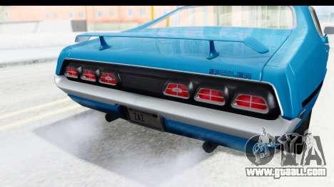 Mercury Cyclone Spoiler 1970 for GTA San Andreas side view