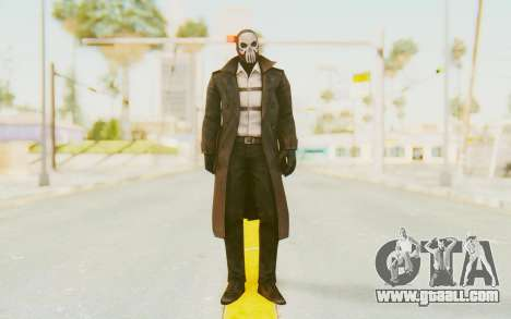 Marvel Future Fight - Punisher (Noir) for GTA San Andreas second screenshot