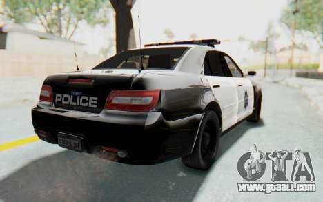 ASYM Desanne XT Pursuit v2 for GTA San Andreas back left view