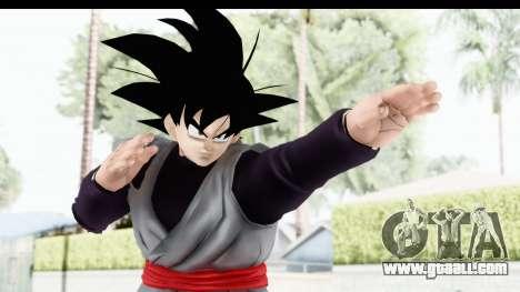 Dragon Ball Xenoverse Goku Black for GTA San Andreas
