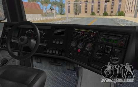 GTA 5 HVY Brickade IVF for GTA San Andreas upper view
