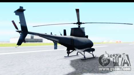Northrop Grumman MQ-8B Fire Scout for GTA San Andreas right view