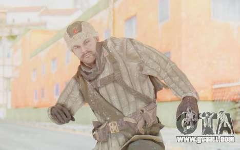 COD BO Dimitri Petrenko Winter for GTA San Andreas