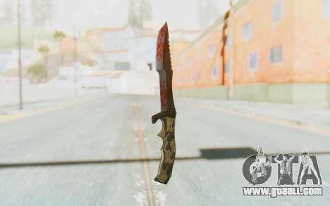 Huntsman Knife for GTA San Andreas