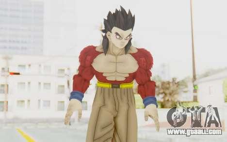 Dragon Ball Xenoverse Gohan SSJ4 for GTA San Andreas
