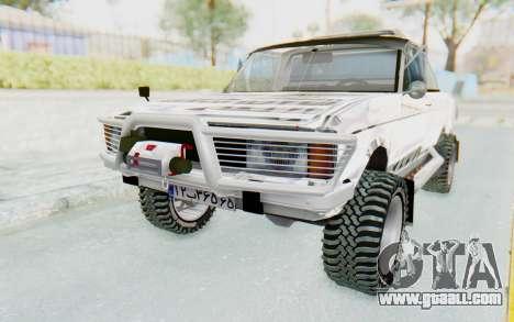 Ikco Super Peykan Pickup for GTA San Andreas
