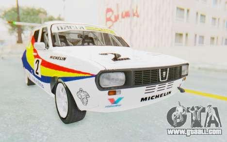 Dacia 1300 Rally for GTA San Andreas