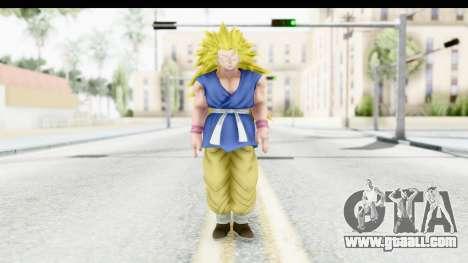 Dragon Ball Xenoverse Goku GT Adult SSJ3 for GTA San Andreas second screenshot