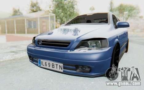 Opel Bertone for GTA San Andreas right view