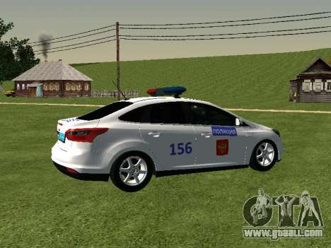 Ford Focus ДПС for GTA San Andreas right view