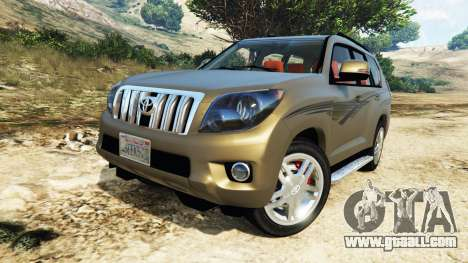GTA 5 Toyota Land Cruiser Prado 2012 steering wheel