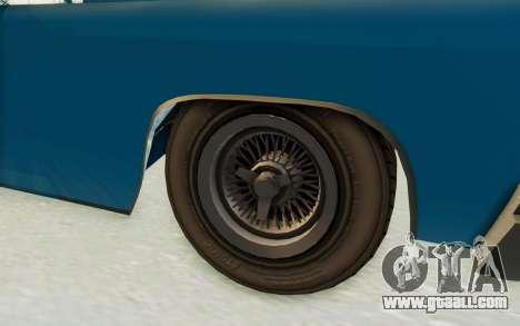GTA 5 Declasse Voodoo PJ for GTA San Andreas back view