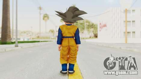 Dragon Ball Xenoverse Goten SJ for GTA San Andreas third screenshot