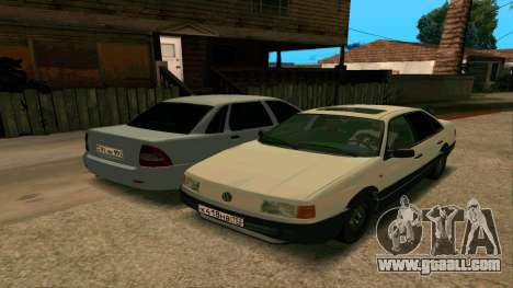 Volkswagen Passat B3 for GTA San Andreas bottom view