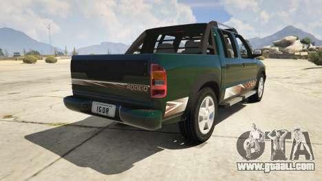 2011 Chevrolet S-10 Rodeio for GTA 5