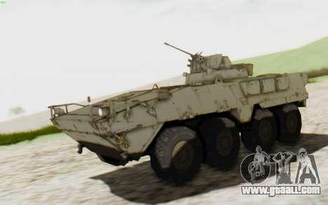MGSV Phantom Pain STOUT IFV APC Tank v2 for GTA San Andreas
