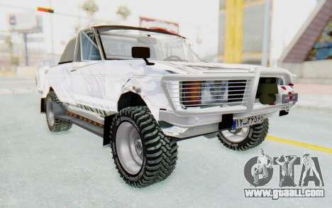 Ikco Super Peykan Pickup for GTA San Andreas right view