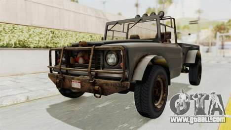 GTA 5 Canis Bodhi Trevor IVF for GTA San Andreas right view