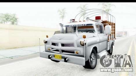 Chevrolet 3100 Diesel v2 for GTA San Andreas