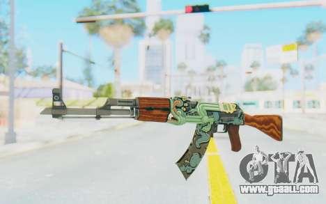 CS:GO - AK-47 Fire Serpent for GTA San Andreas