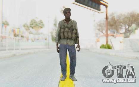 CoD MW3 Africa Militia v4 for GTA San Andreas second screenshot