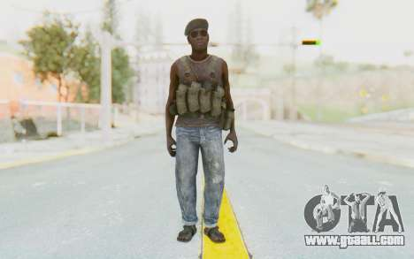 CoD MW3 Africa Militia v1 for GTA San Andreas second screenshot