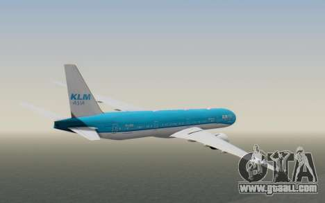 Boeing 777-300ER KLM - Royal Dutch Airlines v2 for GTA San Andreas right view
